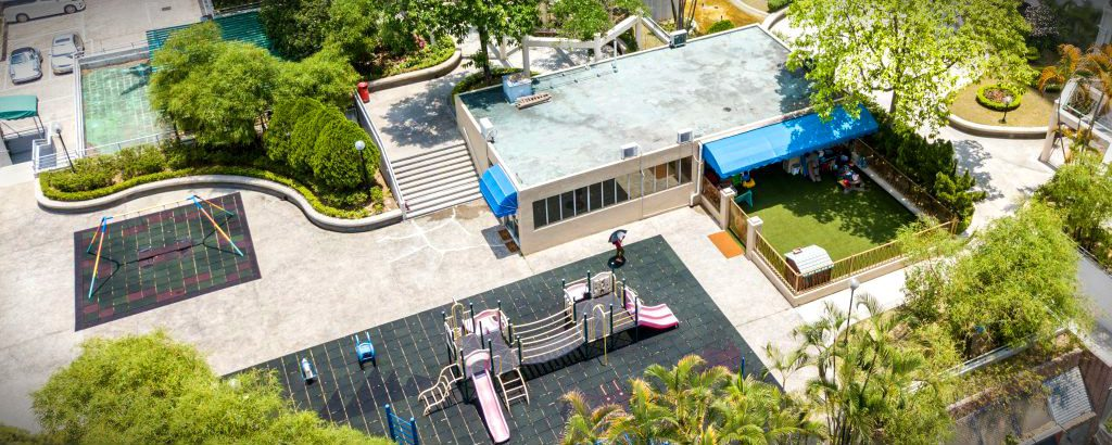 About David Exodus Kindergarten Tai Wai campus Overhead bird's eye view