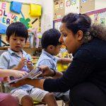 David Exodus Kindergarten classroom reading